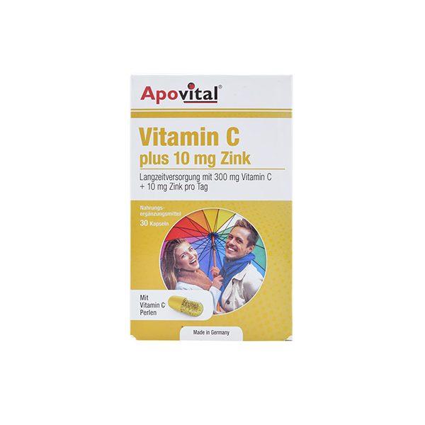 کپسول ویتامین سی زینک آپوویتال