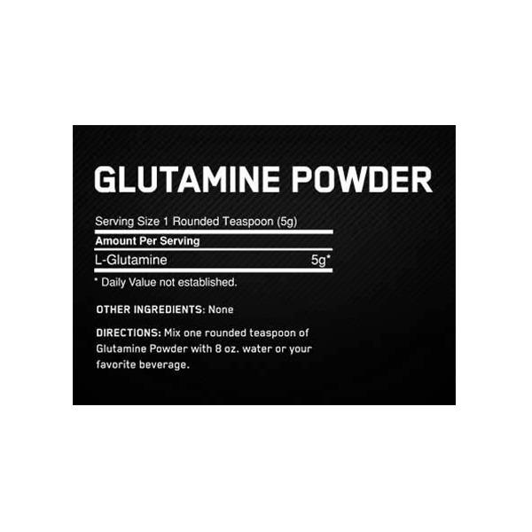 پودر گلوتامین اپتیموم نوتریشن بدون طعم 600 گرمی