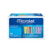 سوزن تست قند خون بایر مدل Microlet بسته 25 عددی