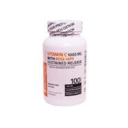 قرص ویتامین C با رزهیپ برانسون 1000 میلی گرم 100 عددی