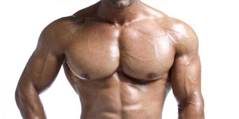 عضلات مردانه