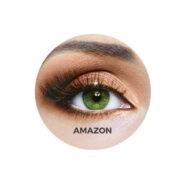 لنز رنگی چشم Bausch+LOMB مدل Amazon